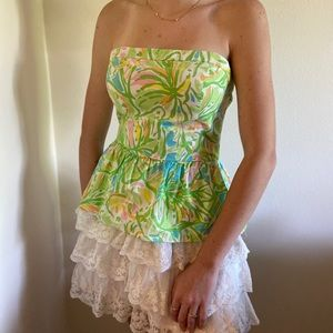 Lilly Pulitzer no strap top size 4